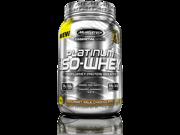 MuscleTech Platinum 100% ISO Whey Supplement, Gourmet Milk Chocolate, 26 Servings
