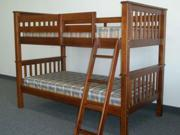 Bunk Bed - Twin over Twin Mission Expresso