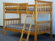 Bunk Bed - Twin over Twin Mission Honey