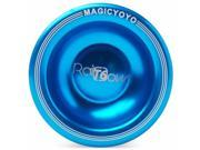 Magic YoYo T6 Rainbow Aluminum Professional Yo-Yo + 5x Strings + Glove TH004