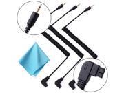 3x 2.5mm-S1 Remote Control Cable for Sony A550 A500 A450 A400 A350 Camera LF535