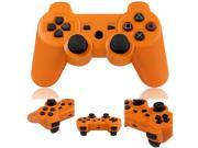 Wireless Bluetooth Game Controller for Sony Playstation 3 PS3 Orange
