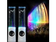 White Dancing Water Music Fountain Light Speakers for PC Laptop PSP MP3 Phone