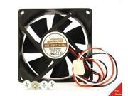 80mm 25mm New Case Fan 12V DC 46CFM PC CPU Computer Ball Brg 3pin 305a