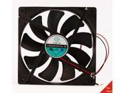 140mm 25mm New Case Fan 12V DC 74 6CFM CPU Computer Cooling 2wire Ball Bg 345B