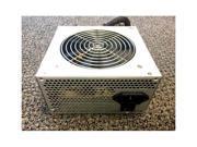 650 Watt 120mm Fan ATX 600W 650W SATA PCIE ATX Power Supply Grey Sliver Quiet