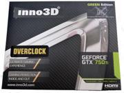 Inno3D NVIDIA GeForce GTX 750 TI Overclock 2GB DDR5 PCIE x16 Video graphics Card