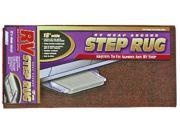 Camco Mfg Camco Step Rug Brown 18 42921