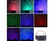 RGB Crystal Ball Stage Lighting DJ Disco Club Effect Light Voice Control