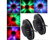 2 X 48 LEDs Sunflower Stage Lights Lighting Lamp Voice-activated Disco DJ Party