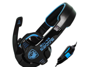 Sades SA-708 Gaming Stereo Headset Headphone Gaming Earphones with Microphone