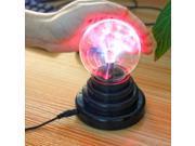 "3.5"" USB Plasma Ball Light LED Lights  Vogue Magic Plasma Ball Christmas Decoration USB Touch Light"