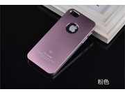 Pink Brand new aluminum mobile phone case metal shell cover bundled Screen Protector film for iPhone5 5s