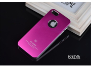 Rose red Brand new aluminum mobile phone case metal shell cover bundled Screen Protector film for iPhone5 5s