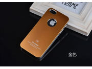 Gold Brand new aluminum mobile phone case metal shell cover bundled Screen Protector film for iPhone5 5s