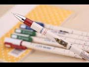 Bling Roller Pen ink pen pencil fountain pen 0.38 mm black full needle neutral pen Office stationery