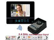 "Blaze Display 7""TFT-LCD wireless recordable video door phone 4G SD card Wireless Door Peephole Viewer Phone"