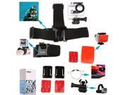 Handlebar Head Wrist Strap Floaty Grip Handle Mount Kit For Gopro HD Hero Surfing