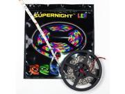 SUPERNIGHT 5m 16.4FT 5050 SMD 150 LEDs Red Light Strip Super Flash Bright Flexible Lamp 12V Indoor Non-Waterproof