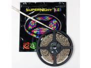 SUPERNIGHT 5050 SMD 5M 300 LEDs Cool White Color Light Strip Flexible Bright 12V Lamp Non-Waterproof Indoor
