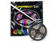 SUPERNIGHT 5050 SMD 150 LEDs 5m Warm White Color 16.4 foot LED Light Strip Flexible Non-waterproof Lamp Indoor