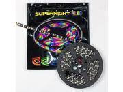 SUPERNIGHT 16.4ft 5050 SMD RGB Light Strip 300 LED Flexible 5M Black PCB Lamp Non-Waterproof Intdoor Decorate 60 Led/m