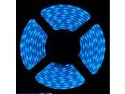 SUPERNIGH 16.4ft 5M Blue 5050 SMD 300led Silicone Tube IP65Waterproof Strip Light Lamp Outdoor/Indoor