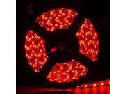 SUPERNIGHT 5M 16.4ft 5050 SMD 300 LED Red Light Strip Bright Flexible Black PCB Lamp IP65 Waterproof 60LEDs/M
