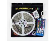 SuperNight® 16.4ft (5m) 5050 300Leds RGB+Warm White LED Flexible RGBWW Waterproof LED Strip Lighting Kit ,5M RGBWW LED Strip + 40Key RGBWW Remote Controller + 12V 5A Power Supply
