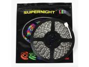 SuperNight® 32.8ft 10M Flexible Strip 600leds Color Changing RGB 5050 SMD 600 LED Light Strip Lamp Non-waterproof 24V