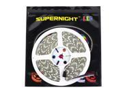 SuperNight® 16.4ft RGBW RGB+Cool White Color Changing LED Strip Light Kit, With 5050 300leds Waterproof RGBW LED Flexible Lighting