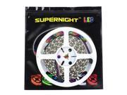 SuperNight® RGBWW RGB+Warm White LED Strip Lighting Ribbon Kit 16.4ft 5M 5050 300leds Non-waterproof Color Changing RGBWW LED Flexible Lights