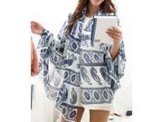 Dear-Lover Women's Autumn Thai Elephant National Cotton Voile Scarf - Fashion Scarves