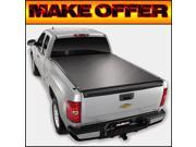 Truxedo Deuce 2 Roll Up Tonneau Cover for 2007-2013 Silverado/Sierra 8' Bed