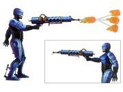 "Robocop Vs Terminator (93' Video Game) - 7"" Action Figure - Series 2 Robocop w/ Flamethrower"