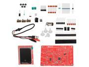 "DSO138 2.4"""" TFT Digital Oscilloscope Kit DIY Parts Kits 1Msps With Probe Welding"