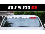 Car Truck Decal Vinyl sticker Windshield Decal sticker NISMO for NISSAN