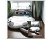 Totoro Totoro double mattress bed mattress mattress double sofa bed tatami bed lazy cartoon sleeping bags