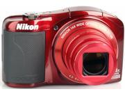 Nikon COOLPIX L610 16MP 14x Zoom 3.0-inch LCD Red Digital Camera Refurbished