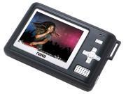 Naxa NMV-154 4 GB Portable Digital Media Player FM Radio Speaker SD Card Slot