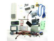 UNO R3 Starter Kit 1602 LCD Servo Dot Matrix Breadboard LED Resistor for Arduino