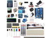 UNO R3 Starter Kit 1602 LCD Screen Micro USB Development Board Dot Matrix Breadboard RGB for Arduino