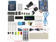 UNO R3 Starter Kits Development Board 1602 LCD Sensor LED Compatible Arduino Maker