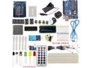 UNO R3 Starter Kits Development Board 1602 LCD Sensor LED Compatible Arduino Maker