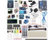UNO R3 Starter Kit 1602 LCD Servo Motor Dot Matrix Breadboard LED for Arduino DIY