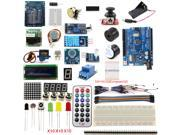 UNO R3 Starter Kit 1602 LCD Screen Micro USB Development Board Dot Matrix Breadboard RGB for Arduino