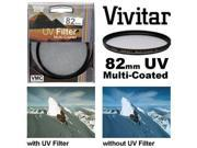 Vivitar Series 1 82mm Multi-Coated UV Glass Filter