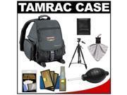 Tamrac 5242 Adventure 2 Photo Digital SLR Camera Backpack Case (Black) with Deluxe Photo/Video Tripod + Nikon Cleaning Kit