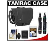 Tamrac 3446 Rally 6 Digital SLR Camera Case (Black) with LCD Protectors + Cleaning Accessory Kit