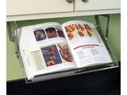 Under Cabinet Cookbook Holder Acrylic & Metal Hinges